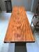 创意家居实木非洲乌金木可办公桌会议桌茶桌-赠送脚架