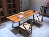 非洲进口创意实木家具家居办公桌会议桌茶桌-赠送脚架