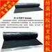 供应丁基橡胶板黑色预硫化防腐衬里胶板