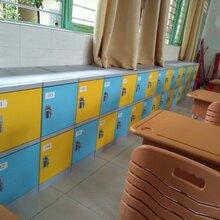 塑料学生书包柜、教室储物柜生产厂家图片