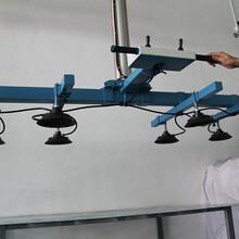 石材玻璃气动悬臂上料真空吸吊机600KG夏日气动板材真空吸盘吊具