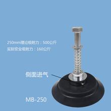 玻璃钢板真空吸盘250MM重载真空吸盘XR-MB250夏日真空吸吊机