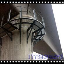 廣東安徽江西高鐵墩身吊籃安全梯圖片