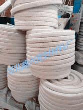 陶瓷纤维盘根带钢丝耐高温密封条