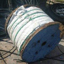 阿坝96芯金属光缆高价回收马尔康市电信长飞光缆收购钢绞线图片
