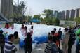 寬泉充氣水上闖關,贛州充氣水上樂園出租廠家