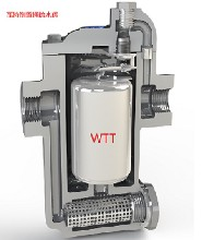 进口台湾瓦特热倒置桶疏水阀,生产厂直供,质保3年