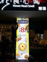 供应8cm金色OPPO手机店灯箱铝型材商场灯箱铝型材