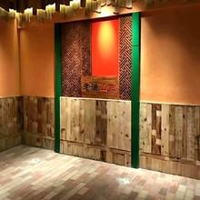 榆木門板老門板復古榆木茶臺桌面風華紋理自然批發零售圖片