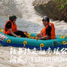 漂流船图片三人漂流艇厚度是多少的橡皮漂流艇生产厂家