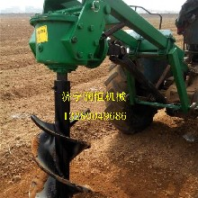植樹挖坑機挖坑機廠家拖拉機帶挖坑機圖片