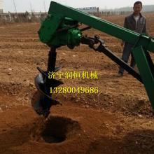 拖拉機挖坑機市政工程挖坑機電線桿打眼機圖片