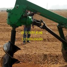 螺旋式挖坑機電線桿挖坑機后置式挖坑機圖片