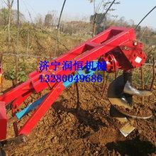 栽樹打孔機農用挖坑打洞機械圖片