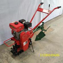 小型柴油自动翻地犁厂家手扶单履带耕地机适用地况图片
