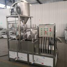 济南大型磨浆机商用三联磨浆机设备大型黄豆磨浆机组图片