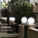 太阳能草坪灯led庭院灯圆球灯防水草坪灯花园灯草地灯户外景观灯