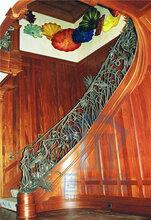 锌钢楼梯扶手铁艺楼梯锌钢楼梯楼梯扶手图片