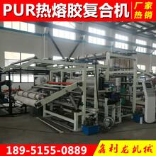 厂家直销PUR热溶胶复合机热熔胶涂布机热熔胶膜复合机欢迎选购图片