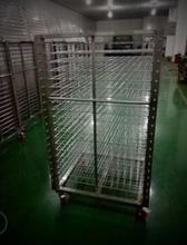厂家直销爆款304不锈钢千层架镀铬线网层架弹簧层架晾干架定制批发