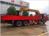 随车吊起重机陕汽德龙后八轮配徐工12吨14吨厂家价格