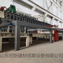創新防火板生產線設備圖片