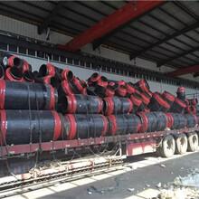 河南卡箍链接环氧煤沥青防腐螺旋钢管价格上涨图片