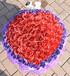 西安520情人节99朵蓝色妖姬仿真玫瑰小熊卡通花束创意生日送女友