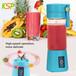 亚马逊热销品充电厂家直销电动榨汁杯果汁杯充电式家用便携式迷你水果榨汁机炸果汁