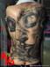 山东济宁纹身邹城纹身东龙纹身女士后背纹身