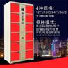 电子寄存柜12门刷卡智能系统存包柜厂家洛阳固彩品质保证