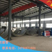 供应云南法兰式镀锌波纹涵管拼装波纹管厂家4米防腐钢制金属波纹管