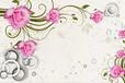 优雅壁画大型厂家低价格高品质简约时尚,中式画、客厅