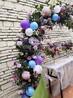 深圳南山承接宴会气球鲜花布置轻派对创意甜品台制作