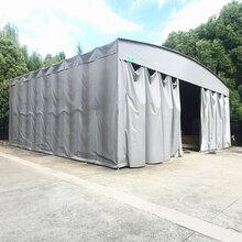 上海松江区定做各式PVC伸缩雨蓬户外折叠帐篷可移动遮阳棚