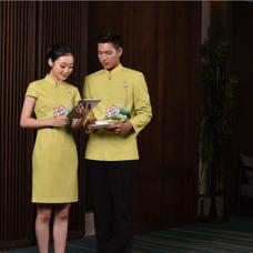 酒店工装制服,制服设计
