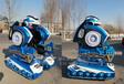 2018年新款行走機器人大型廣場游樂電動太空戰車廠家直銷