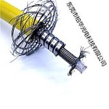 青島廠家直銷柏華激光器金屬鎧裝QBH光纖保護管能量光纖鎧纜圖片