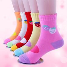 儿童卡通袜男女童袜秋冬保暖袜学生袜儿童礼品袜图片