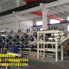 厂家供应自动化有效冷却长度51米橡胶胶片冷却出片机