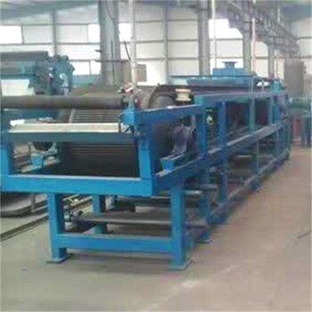 山东辉宏厂家供应污泥脱水设备固液分离设备自动化新型橡胶带式真空过滤机