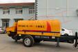 烟台大都重工HBTS80-16-110混凝土拖泵有柴油版