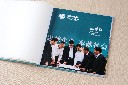 荆州顺时针退休纪念册相册设计制作优质的生产线图片