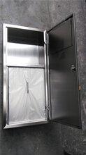 带盖板垃圾柜壁橱暗藏式垃圾箱单一装垃圾功能镶嵌式图片