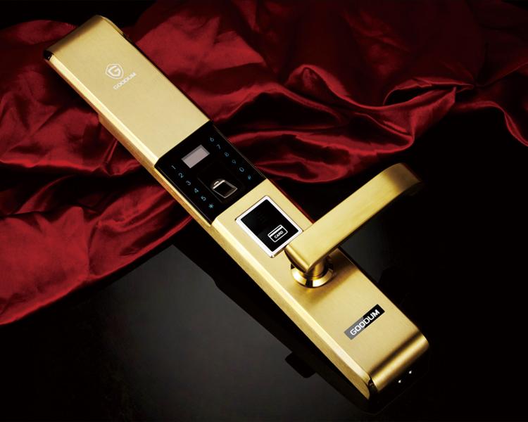 佳悦鑫F9900不锈钢指纹密码锁北京厂家直销