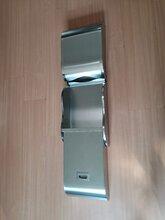 二合一不銹鋼加厚擦手紙箱,適用公共衛生間洗手臺區域圖片