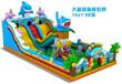 贵州毕节儿童充气滑梯蹦蹦床海洋世界