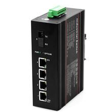 工业级1光4电光纤收发器