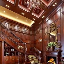 天津浩天全屋定制,书柜,鞋柜,定制博古架,护墙板,实木楼梯