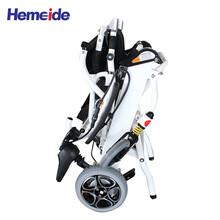 英洛华W5513锂电电动轮椅可折叠放后备箱残疾人老人电动轻便轮椅
